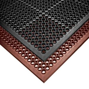 rubber mesh matting