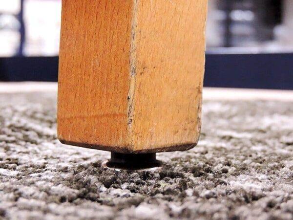 chair glide 03 Floormat.com Steel base nail glide for wood furniture legs 7/8 Base <ul> <li>Eliminates carpet from being torn from chair legs that are missing glides</li> <li>Sold in packs of 24 each</li> <li>Easy to install</li> </ul>