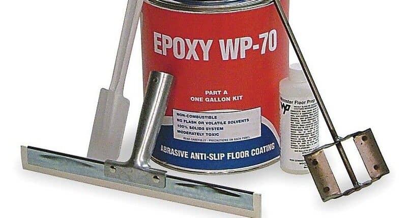 Metal Epoxy Heavy Duty : Floormat epoxy heavy duty