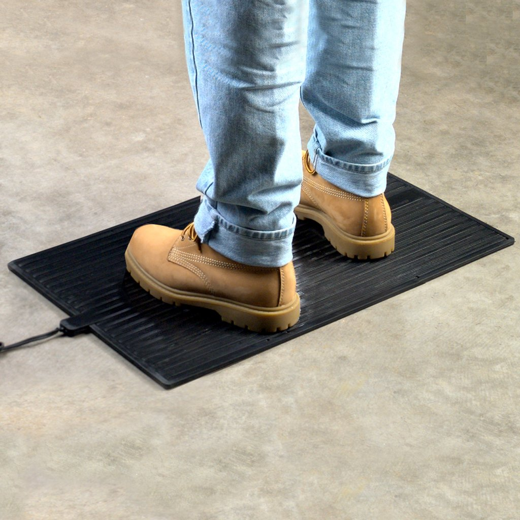Winter Warmth Heated Floor Mats Anti Fatigue Anti Slip