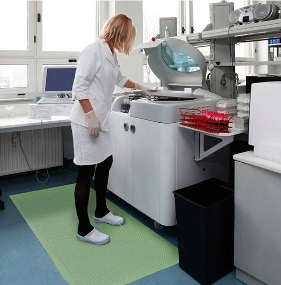 antimicrobial anti-fatigue floor mats