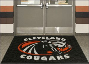 legacy-logo entrance mat